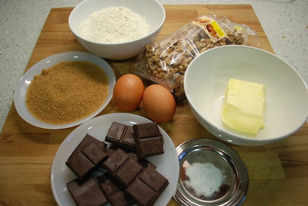 brownie ingredientes