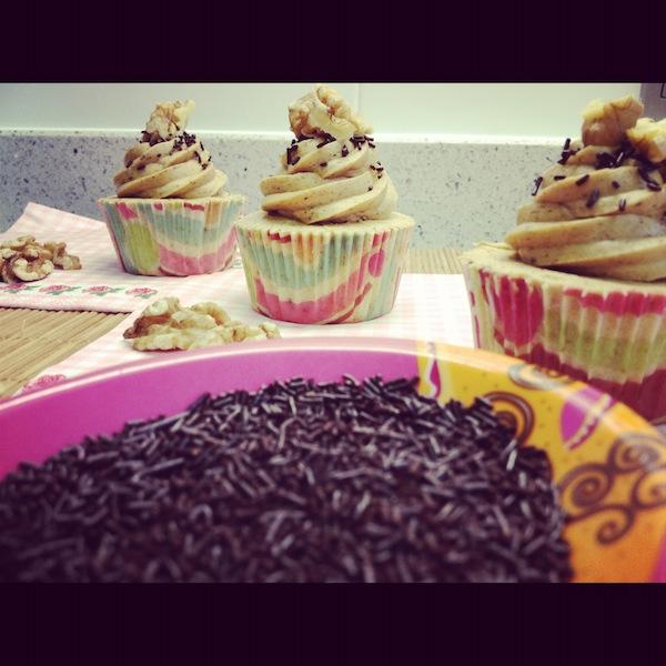 cupcake de café y cursos cupcakes madrid