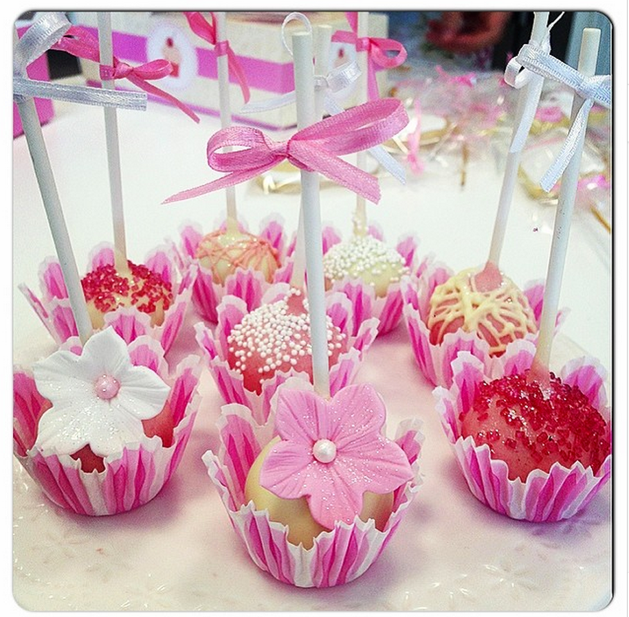 decorar cake pops