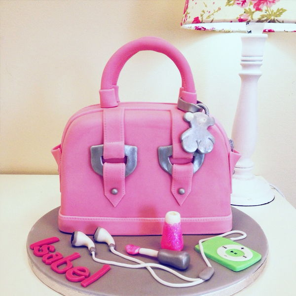pasteles decorados con fondant