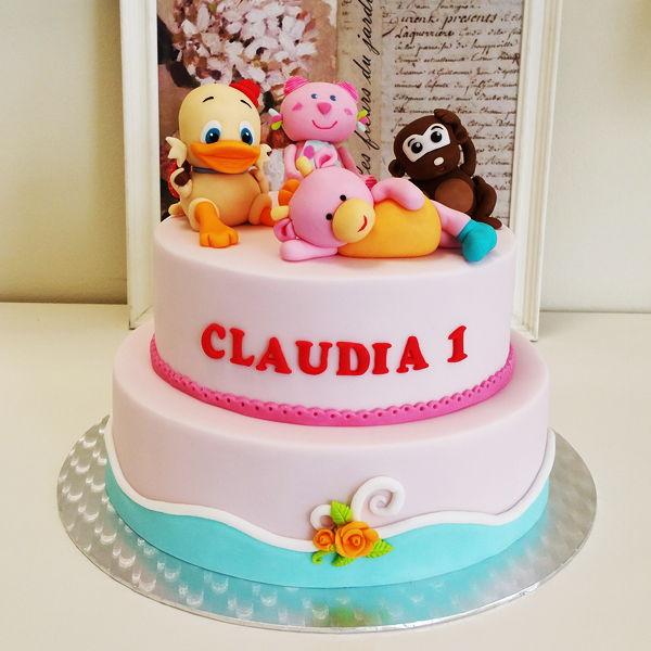pasteles para niños con fondant