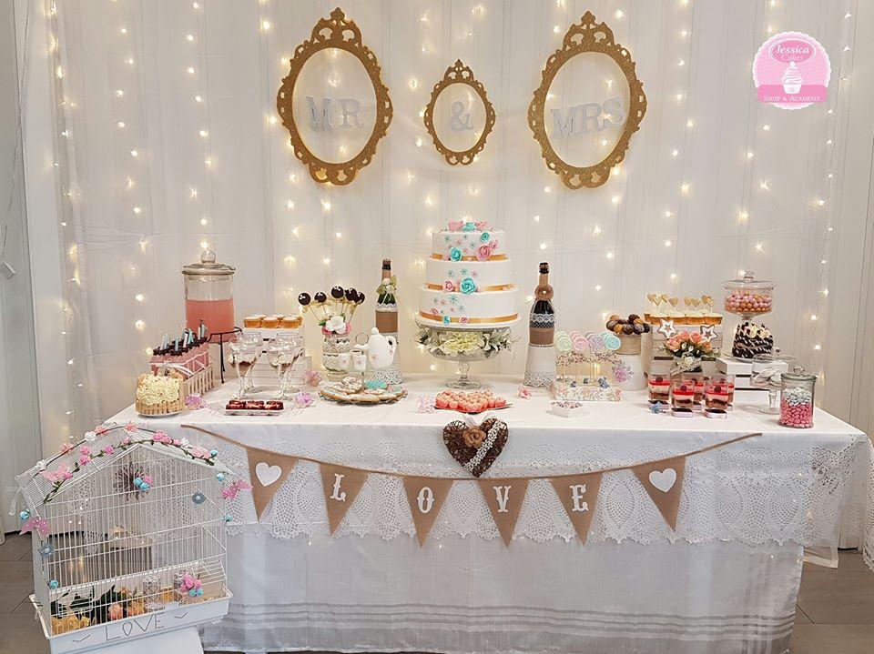 Las mejores mesas dulces para bodas en bucaramanga - Mesas decoradas para bodas ...