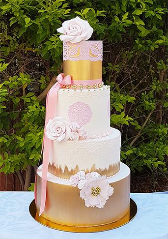 tartas de boda vintage
