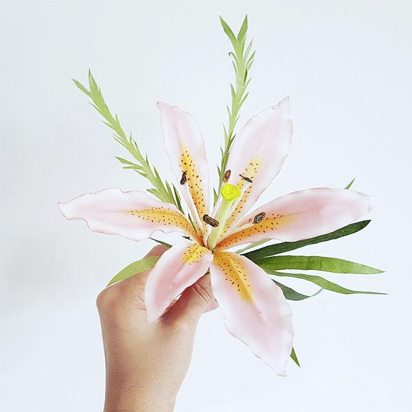 flor pasta de azucar