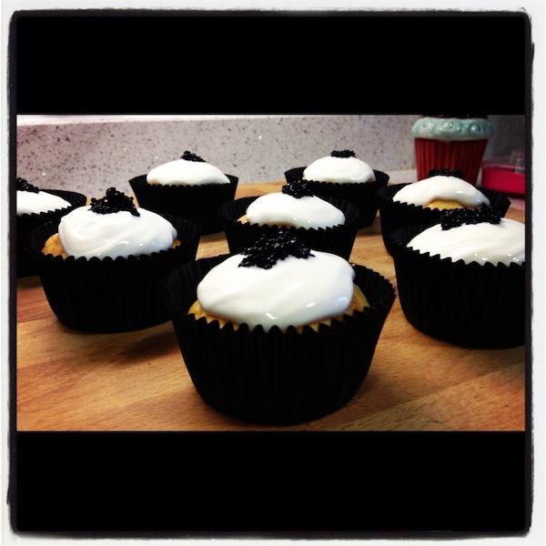 Cupcakes de Salmón en los cursos cupcakes madrid