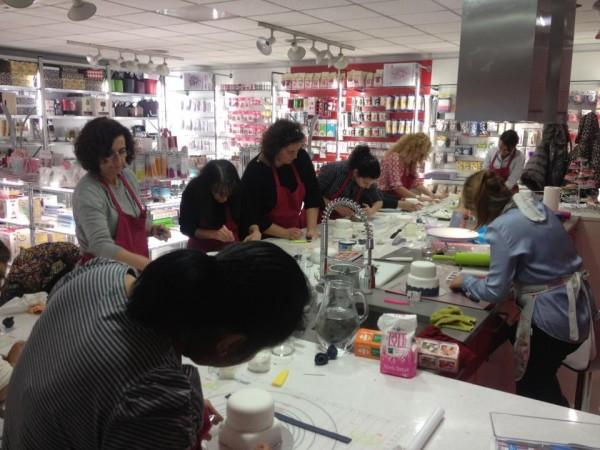 taller de tartas fondant en madrid