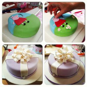 cursos de pastelería con fondant