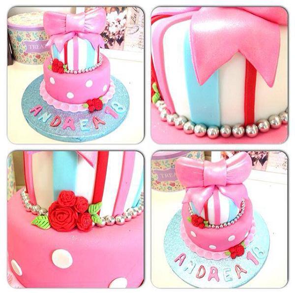 tartas de cumpleaños de fondant