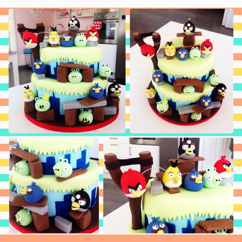 decorar tartas con fondant