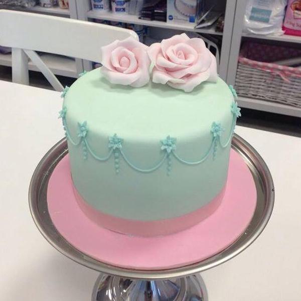 tartas decoradas fondant