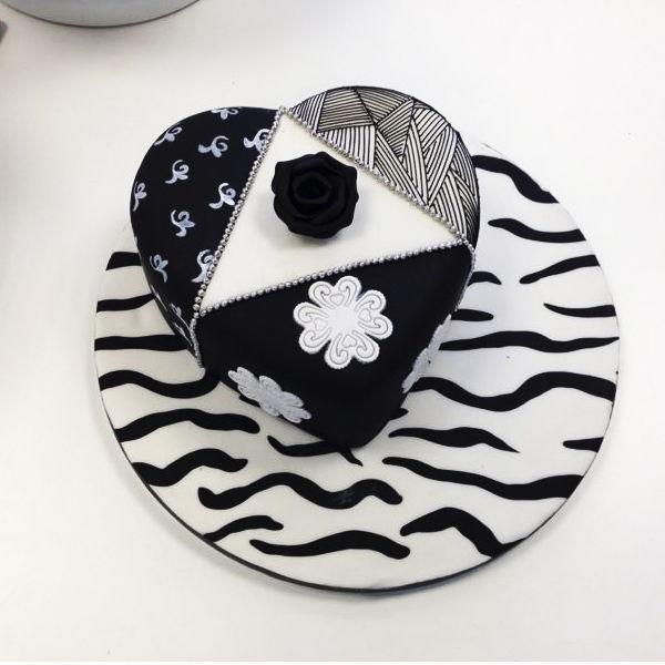 pasteles de fondant decorados