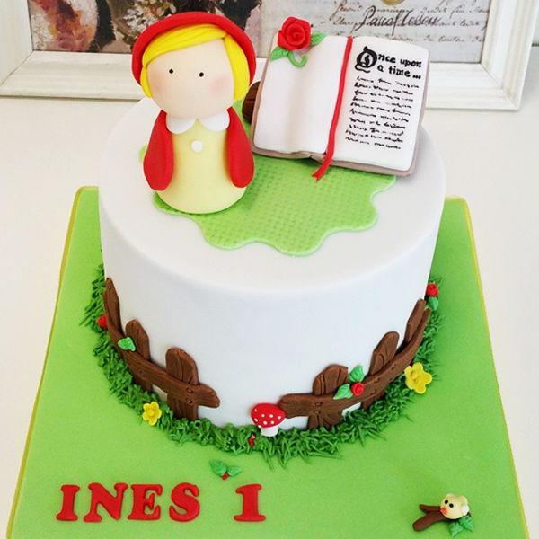tarta fondant cumpleaños