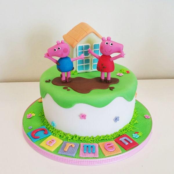 cómo hacer una tarta fondant