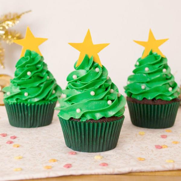 curso cupcakes de navidad