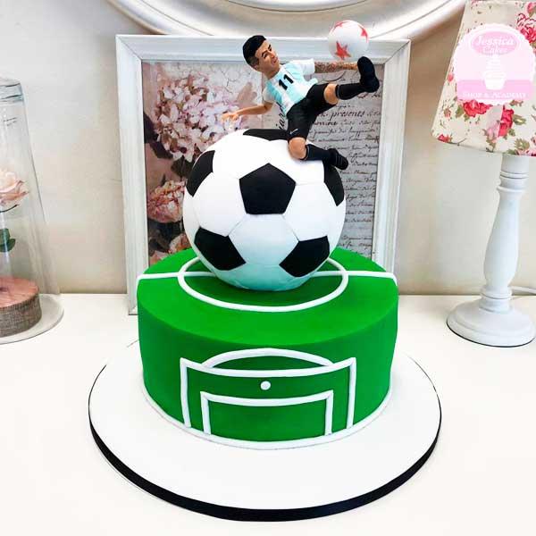 Curso de pastel de Futbol Zaragoza
